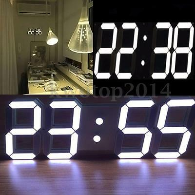 Reloj De Pared Remoto Control 3D Modern Digital LED Horas Calendario Temperatura