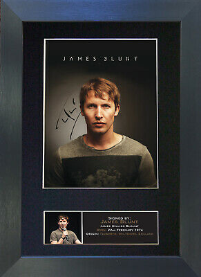 JAMES BLUNT Signed Mounted Autograph Photo Prints A4 397