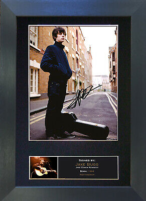 JAKE BUGG Signed Mounted Autograph Photo Prints A4 293