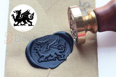 Welsh Dragon Wax Seal Stamp , Sealing Wax Stamp, Party Invitation Stamp S1245