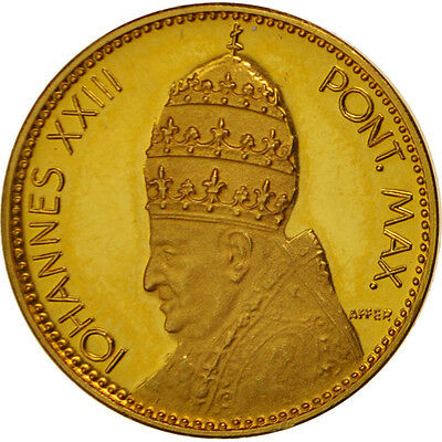 [#415027] Vatican, Medal, Iohannes XXIII, Encyclica Pacem in Terris, Religions &