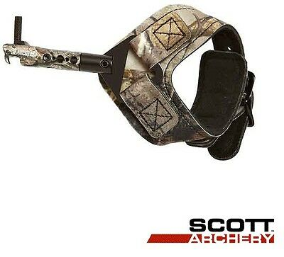 SCOTT Archery Release Silverhorn Buckle Strap Bow Hunting - Free Shipping to USA