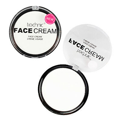 Technic White Face Powder & White Face Paint Cream Halloween Goth Stage Vampire