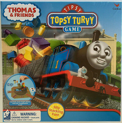 NEW! THOMAS the TRAIN & FRIENDS ~ TIPSY TOPSY TURVY STACKING GAME by CARDINAL