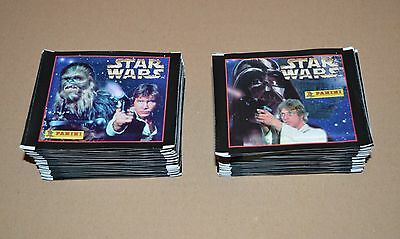 1996 PANINI Star Wars Stickers 75 packets 450 Stickers