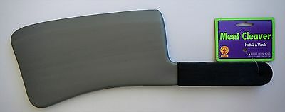 Halloween Costume Rubies 1568 Plastic Meat Cleaver Knife Toy Weapon
