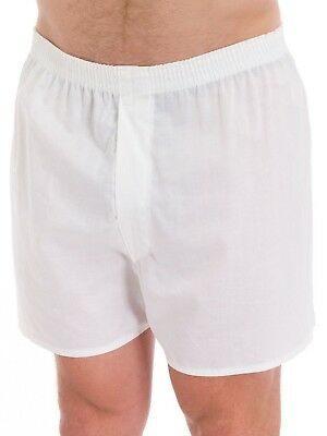 Fruit of the Loom Men's White Boxers 10-PACK Sizes S-3XL