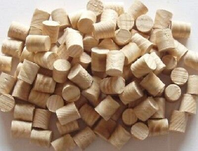 10mm Pine Softwood Tapered Tip Plugs / Pellets = Packs Of 10-20-50-100