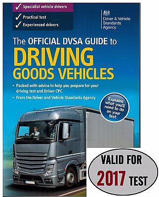 Latest The Official DVSA Guide to Driving Goods Vehicles Test Book 2016/17 'Gods