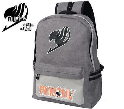 Neu FAIRY TAIL Anime Manga Cosplay Rucksack Tasche Back Bag 40x32x13CM 002