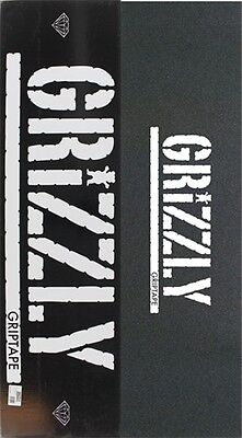 Grizzly 20/box Stamp Blk/wht Skate Griptape