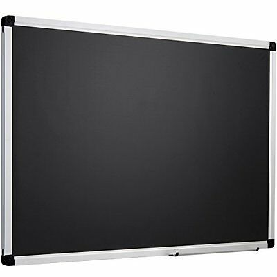 MateBoard Large Magnetic Blackboard, 36 x 24 inches Wall Mounted Chalkboard with