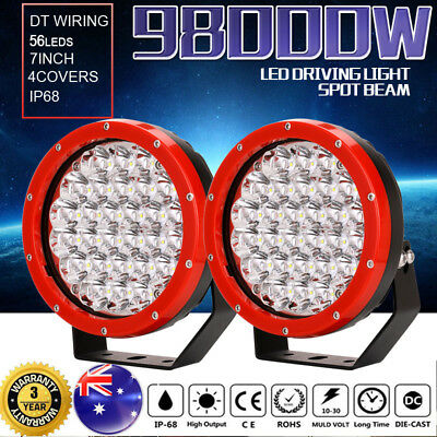 28800W 7inch led cree driving light spotlights work offroad lamp HID 4WD ATV UTV