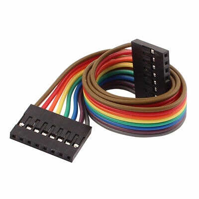Female to Female 8P Jumper Wire Ribbon Cable Pi Pic Breadboard DIY 30cm Long