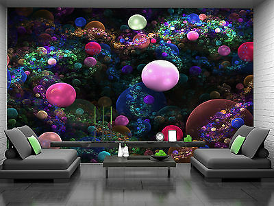 Bubbles Wall Mural Photo Wallpaper GIANT DECOR Paper Poster Free Paste