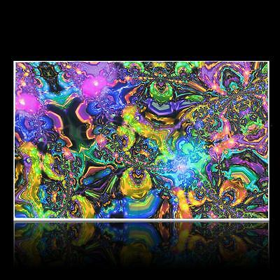 Psychedelic Trippy Art Silk Cloth Poster Photo Fabric Home Decor 40'' x 26""