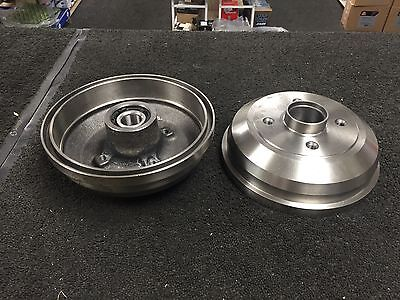 VAUXHALL CORSA C CORSA 00-06 REAR BRAKE DRUMS + BEARINGS X 2 none abs