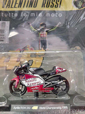 Valentino Rossi Collection Aprilia Rsw 250 (1998) Scala 1:18