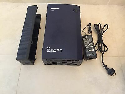 Panasonic KX-TDA30 Control Unit IP-PBX Phone System With AC Adaptor