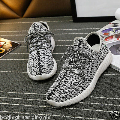 Hot Mens Yeezy Boost Trainers Fitness Gym Sports Running Shock Shoes Sports