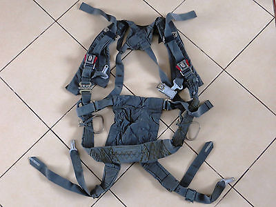 Russian Pilot Aircraft MiG Parachute Harness PS-M for Ejection Seat KM-1