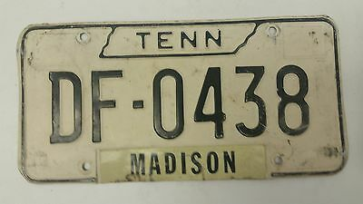 1966 TENNESSEE Madison License Plate DF-0483