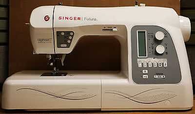Singer Futura Xl-550 Sewing, Quilting & Embroidery Machine