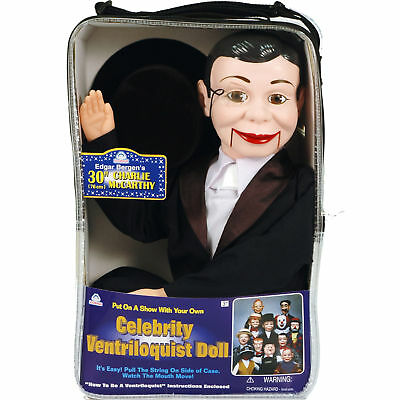 CHARLIE McCARTHY VENTRILOQUIST DUMMY DOLL PUPPET NEW!