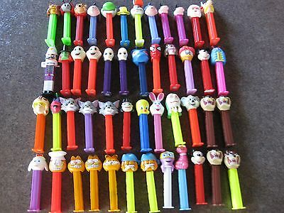Vintage Lot Of 49 Pez