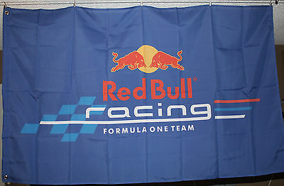 Red Bull Racing F1 Banner Flag 3x5 Man Cave Garage Hanger Machine Shop