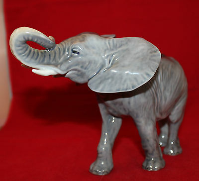 Royal Copenhagen Large Elephant Figure Figurine #1771 Denmark Peter Herold