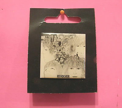 """New Official Square Beatles Button  Badge Pin Official Uk Made """"revolver"""""""