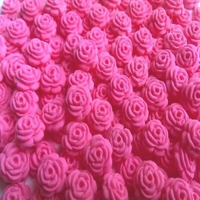 200 tiny sugar roses sprinkles flowers cake cupcake toppers decorations