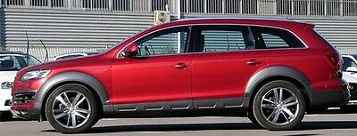 Audi Q7 First Facelift 2009 - 2013 Fender Flares Wheel Arches Arch Extensions!!!