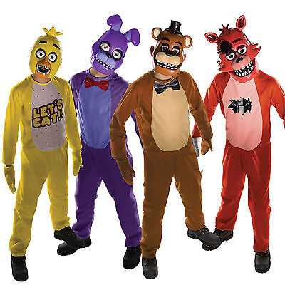 Rubies Five Nights At Freddy's Childs New Halloween Robots Fancy Dress Costume