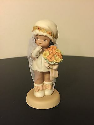 """Memories of Yesterday Porcelain Figurine - """"Love To You Today"""", 1994, #602973"""