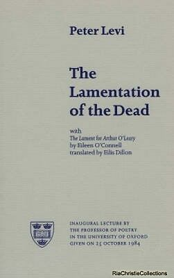 The Lamentation of the Dead Peter Levi New Paperback Free UK Post