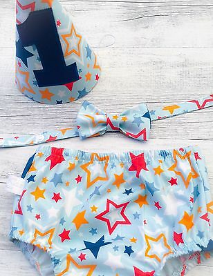 All Star Blue Cake Smash Set / 1st Birthday Outfit / Photo Prop
