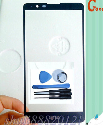 Front Outer Glass Lens touch Screen For LG Stylo Stylus 2 LS775 K520 K540 black