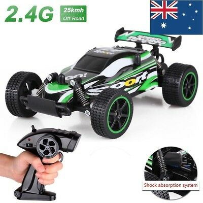 New Off Road Remote Control 1/20 2.4G 2WD High Speed Radio RC Truck Car Toy AU