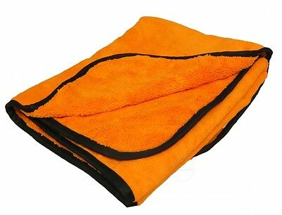 Chemical Guys Orange Orangutan 90x60 cm Microfiber Towel Trockentuch