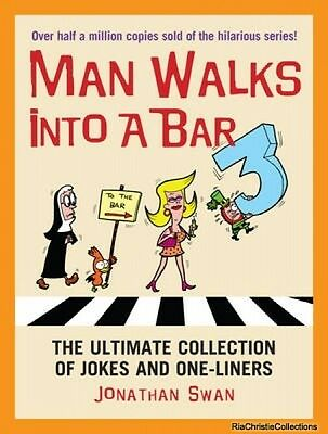 A Man Walks Into a Bar 3 Jonathan Swan Paperback New Book Free UK Delivery