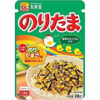 NEW Marumiya FURIKAKE Rice Seasoning Noritama 28g JAPAN Free shipping
