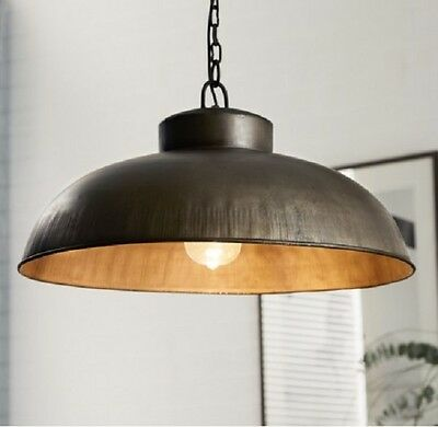 Trendy Metal Pendu Ceiling Lamp, Galvanised Metalic Hanging Lamp