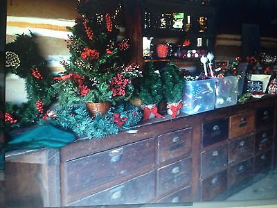Antique Wooden Country Store Counter