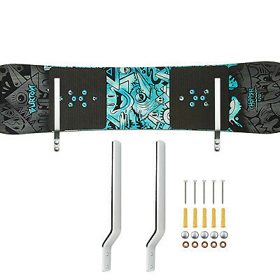 Snowboard Wall Storage Rack Wall Mount Wall Display Rack -Aluminum,Never Rust