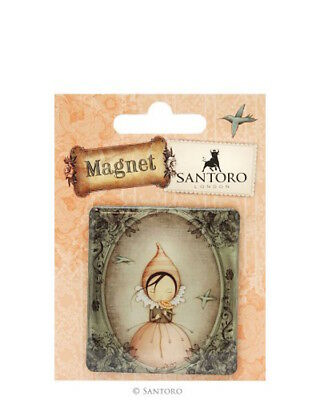 Santoro's Mirabelle - Magnet 6x6,5 cm - Pursuit Of Happiness - in Blisterpackung