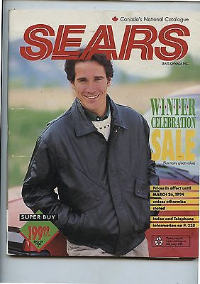 Old 1994 Sears Winter Catalog