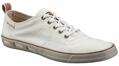 "New Mens Columbia ""Vulc N Vent"" Lace Canvas Non-Marking Vented Water Boat Shoes"