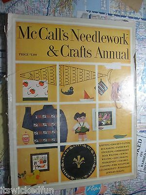 1954 McCall's Needlework & Crafts Annual - See Photos for Table of Contents